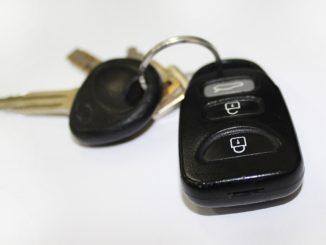 Dálkové ovládání auta
